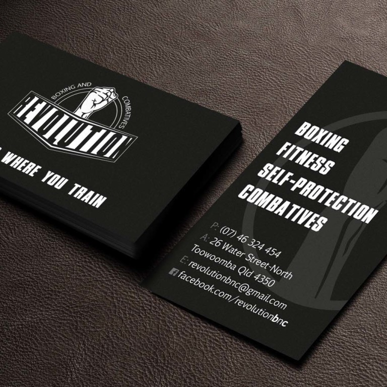 Revolution Business Cards