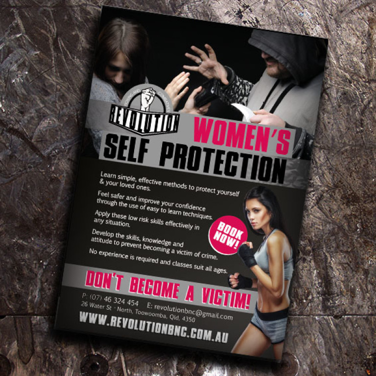 Self Protection Flyer - Print Design