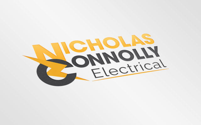 Nicholas Connolly Electrical Logo Design