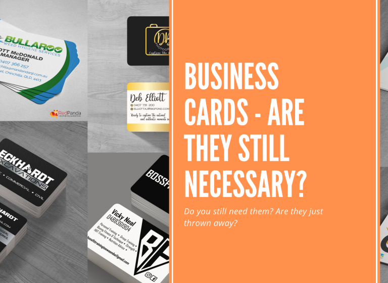 Business Cards - Are they still Necessary