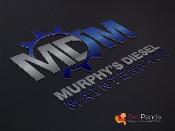 Logo Design - Murphys Diesel Maintenance